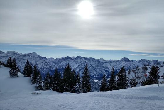 Aussicht auf das Tote Gebirge